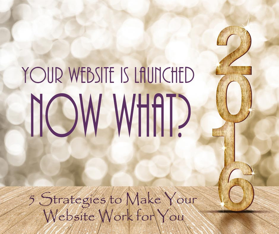 Your Website is Launched … Now What?