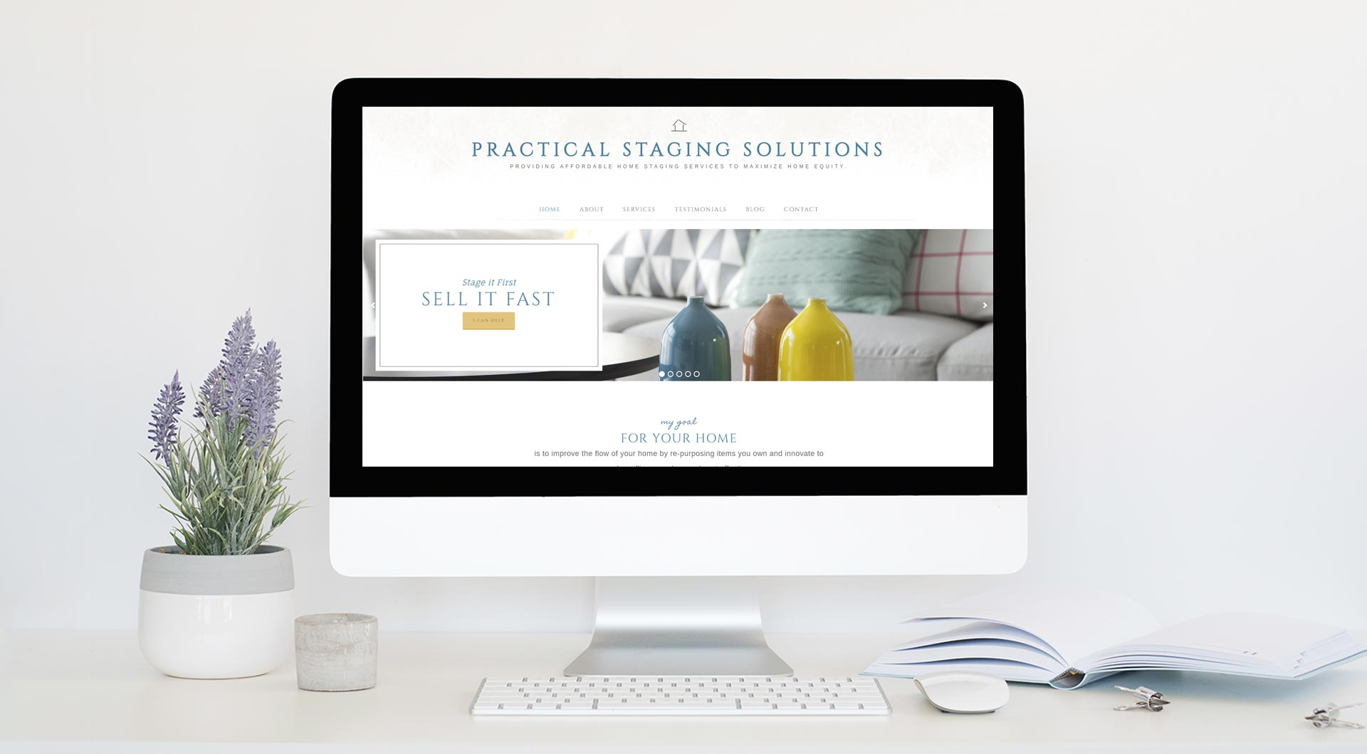 Practical Staging Solutions - Living Room